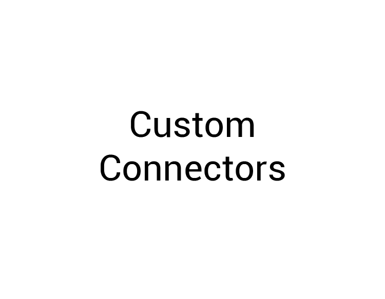 Custom Connectors Logo